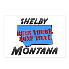 shelby montana - been there, done that Postcards (