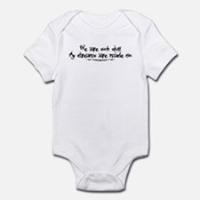 Stuff as Dreams are Made on Infant Bodysuit