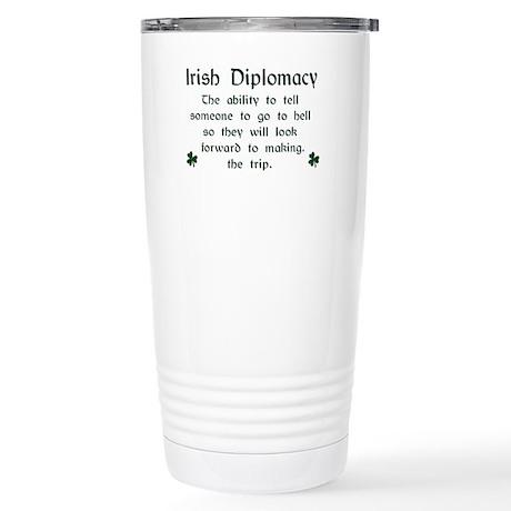 Irish Diplomacy Stainless Steel Travel Mug