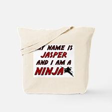 my name is jasper and i am a ninja Tote Bag