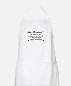 Irish Diplomacy BBQ Apron