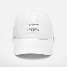 Irish Diplomacy Baseball Baseball Cap
