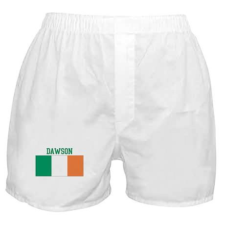 Dawson (ireland flag) Boxer Shorts