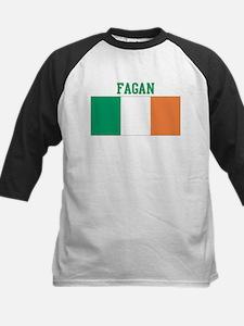 Fagan (ireland flag) Kids Baseball Jersey
