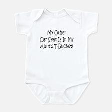 Carseat In My Aunts T-Bucket Infant Bodysuit