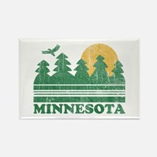 Minnesota Rectangle Magnet