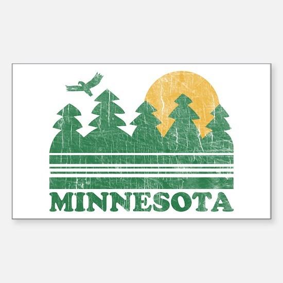 Minnesota Rectangle Decal