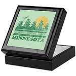 Minnesota Keepsake Box
