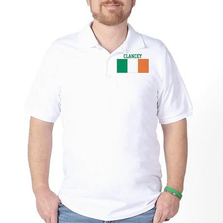 Clancey (ireland flag) Golf Shirt