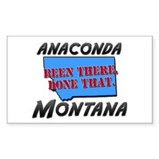 anaconda montana - been there, done that Decal