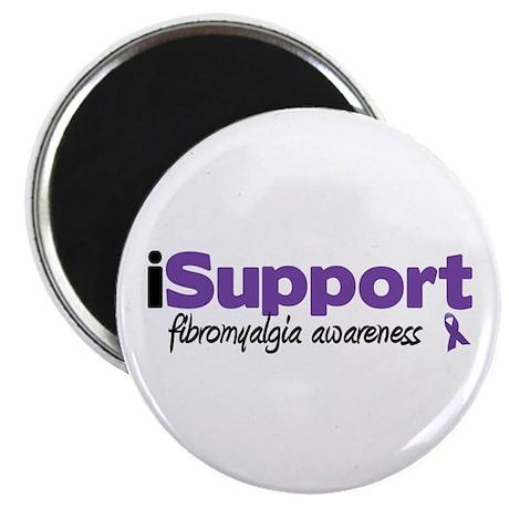"iSupport Fibromyalgia 2.25"" Magnet (100 pack)"