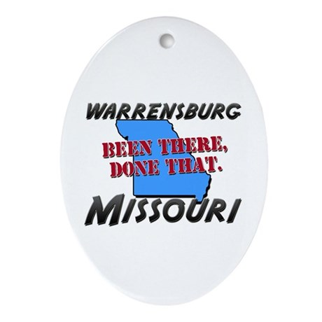 warrensburg missouri - been there, done that Ornam