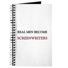 Real Men Become Screenwriters Journal
