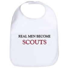 Real Men Become Scouts Bib