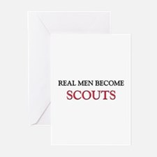Real Men Become Scouts Greeting Cards (Pk of 10)