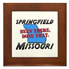 springfield missouri - been there, done that Frame