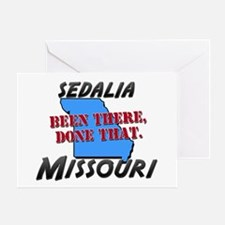 sedalia missouri - been there, done that Greeting