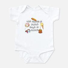 What Happens at Nanna's... Infant Bodysuit