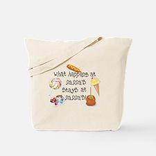 What Happens at Nanna's... Tote Bag