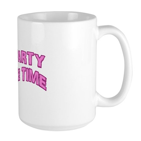 Tea Party Time Large Mug