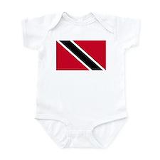 Infant Bodysuit - Trinidad Flag