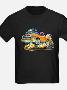 Dodge Ram Orange Truck T