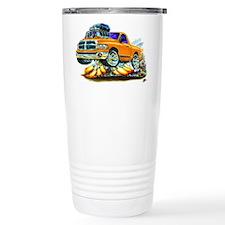 Dodge Ram Orange Truck Travel Coffee Mug