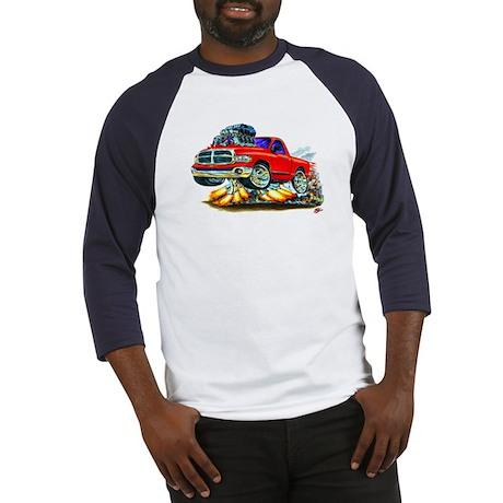 Dodge Ram Red Truck Baseball Jersey