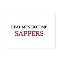 Real Men Become Sappers Postcards (Package of 8)