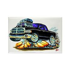 Dodge Ram Extended Cab Black Truck Rectangle Magne