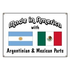 Argentinian-Mexican Banner