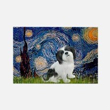 Starry / Lhasa Apso #2 Rectangle Magnet