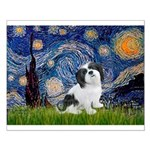 Starry / Lhasa Apso #2 Small Poster