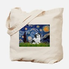 Starry / Lhasa Apso #2 Tote Bag