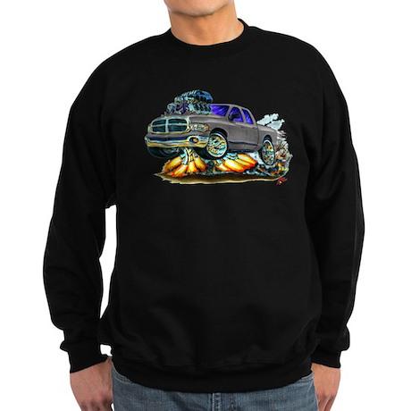 Dodge Ram Dual Cab Silver/Grey Truck Sweatshirt (d