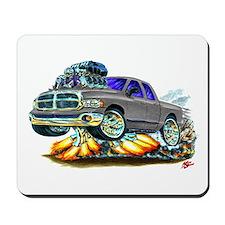 Dodge Ram Dual Cab Silver/Grey Truck Mousepad