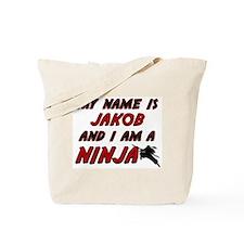 my name is jakob and i am a ninja Tote Bag