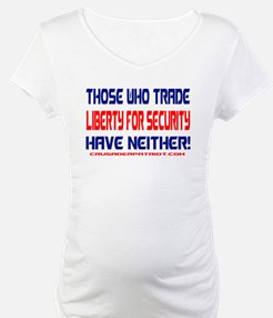 TRADING LIBERTY FOR SECURITY Shirt
