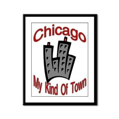 Chicago: My Kind Of Town Framed Panel Print