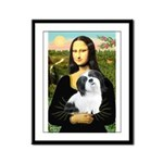 Mona / Lhasa Apso #2 Framed Panel Print