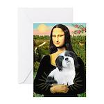 Mona / Lhasa Apso #2 Greeting Card