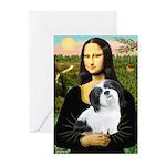 Mona / Lhasa Apso #2 Greeting Cards (Pk of 10)