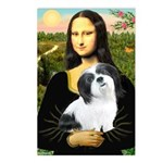 Mona / Lhasa Apso #2 Postcards (Package of 8)