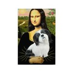 Mona / Lhasa Apso #2 Rectangle Magnet (100 pack)