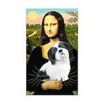 Mona / Lhasa Apso #2 Sticker (Rectangle)