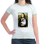 Mona / Lhasa Apso #2 Jr. Ringer T-Shirt