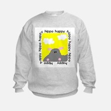 Hippo Happy Sweatshirt