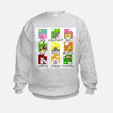 Animals on Parade Sweatshirt