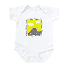 Hippo Happy Infant Bodysuit