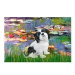 Lilies / Lhasa Apso #2 Postcards (Package of 8)